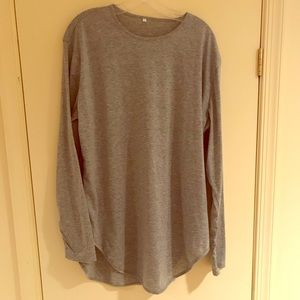 Other - Bamboo fibre tee long sleeve (Grey)